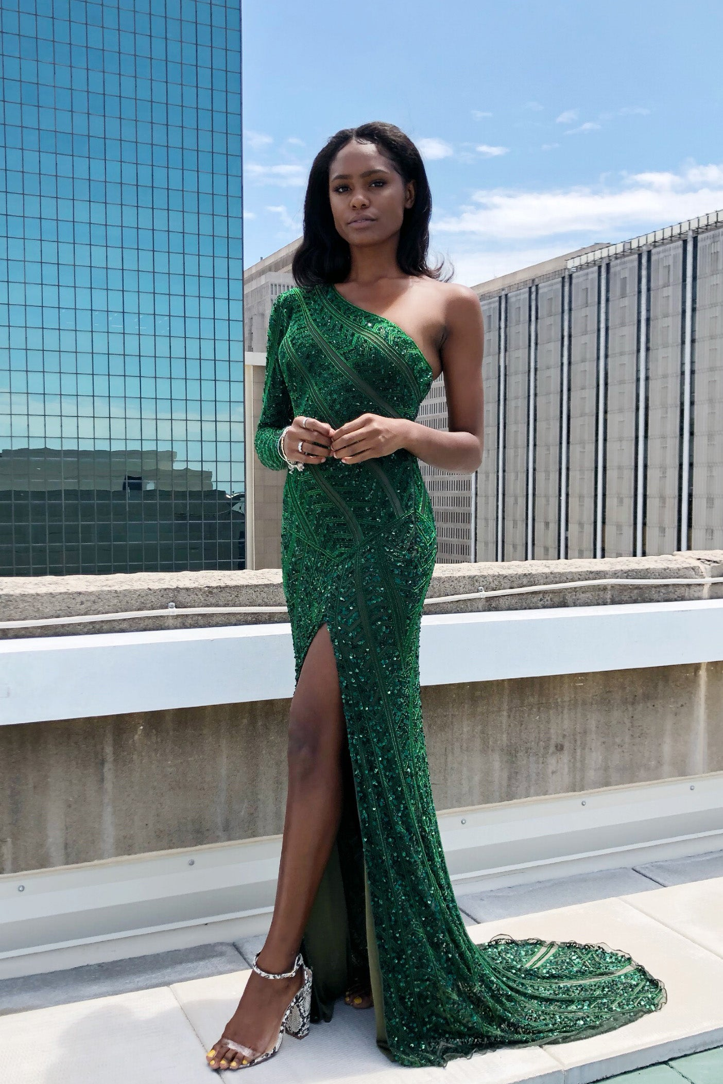 Rene the label kennedy gown