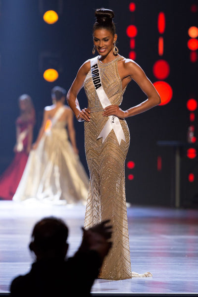 miss Florida usa evening gown