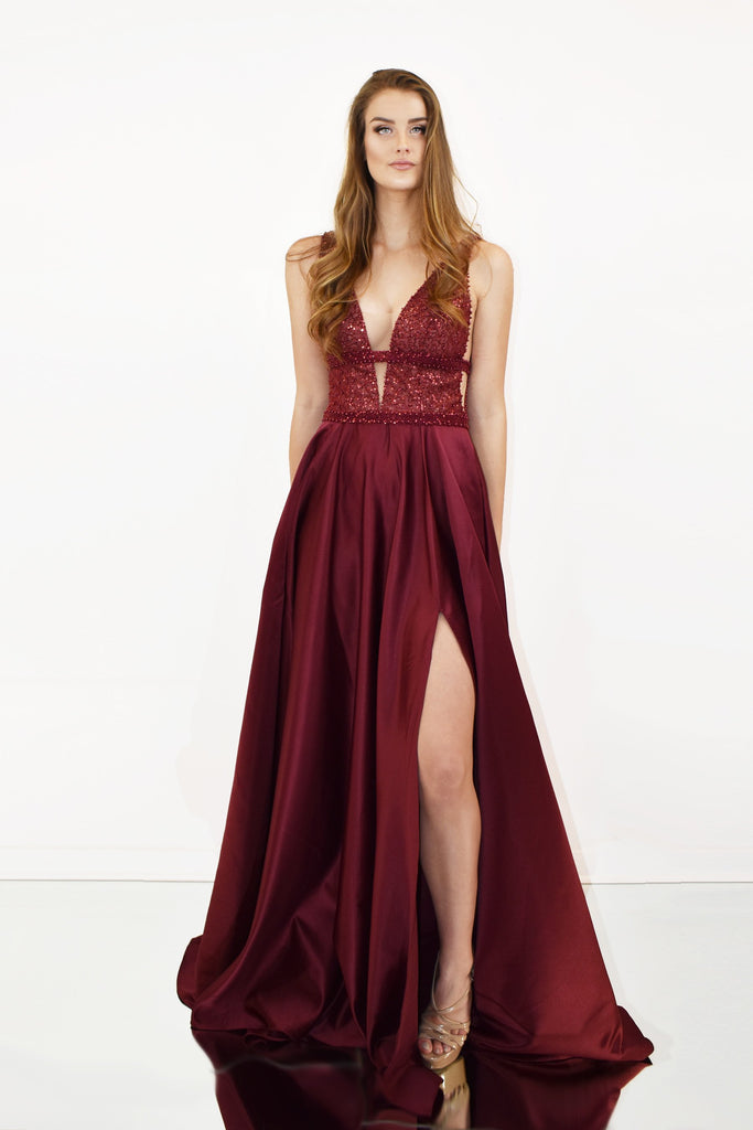 rene the label morgan gown