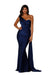 portia and Scarlett ps6321 one shoulder dress