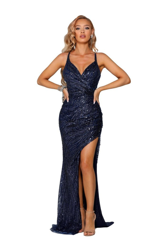 portia and scarlett ps6363 sequins prom dress
