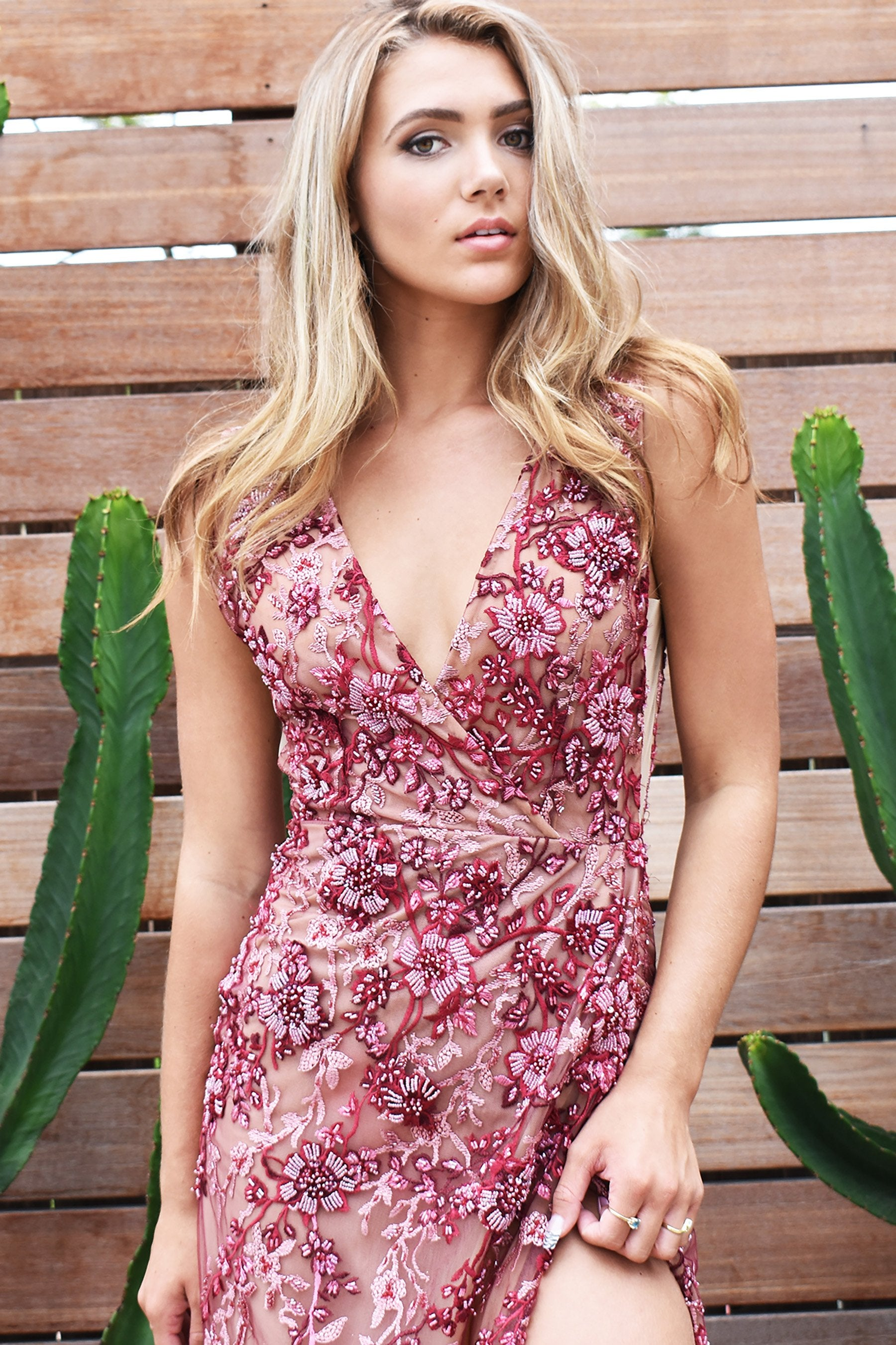 floral savannah gown