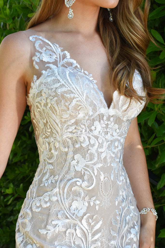 destination san diego bridal gown