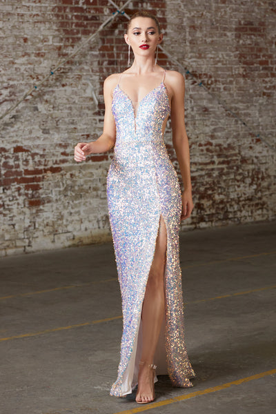 low back pink sequins prom dress new orleans