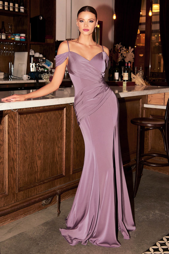 The Kiara long bridesmaid dress