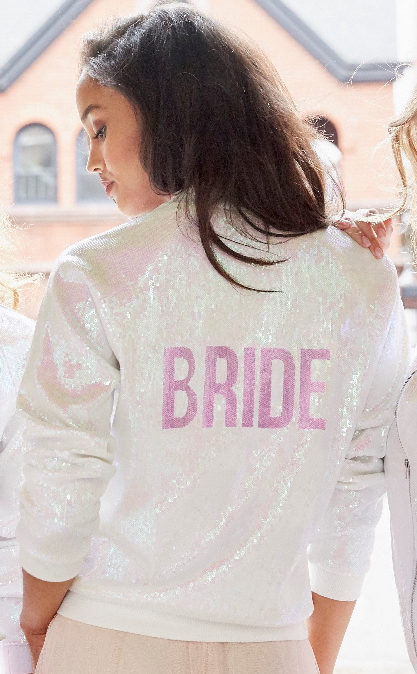 Bridal Bomber Jacket