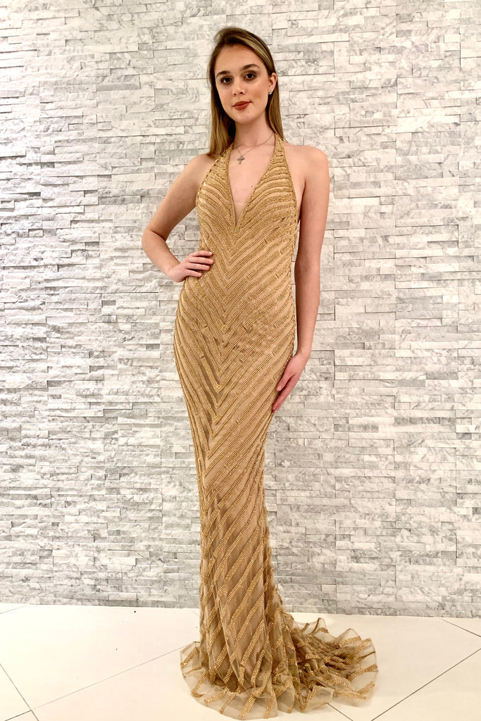 jovani 00399 rose gold