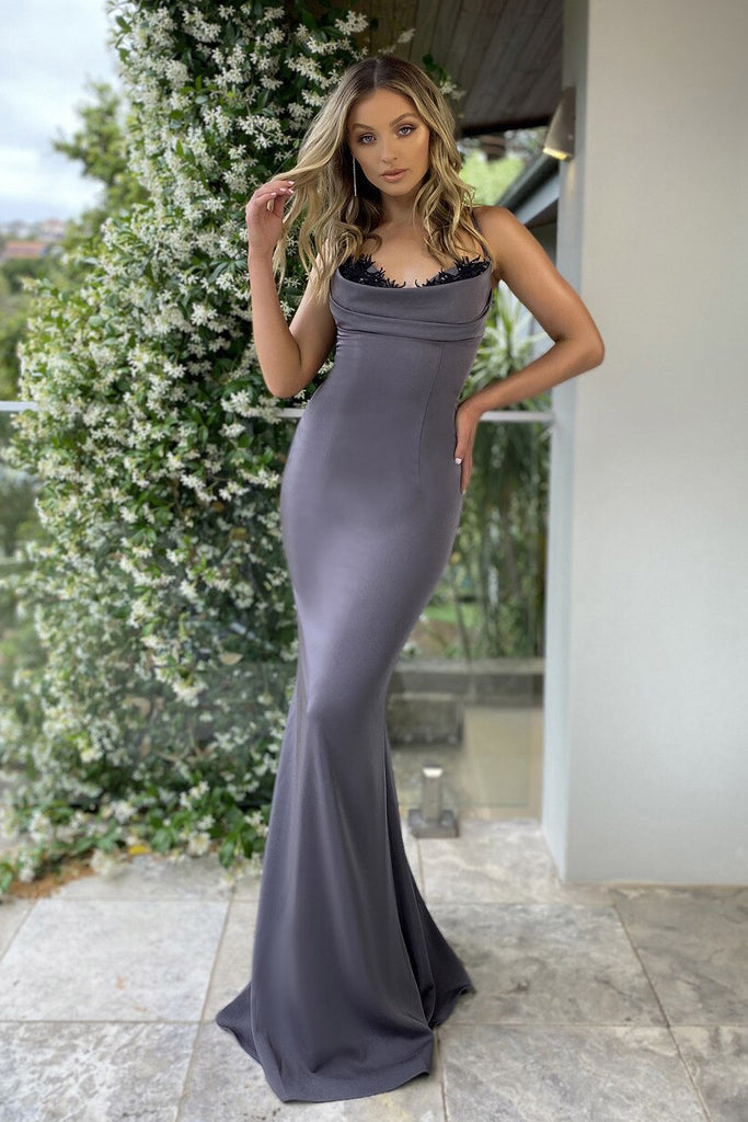 Jadore Australia JX5027 satin dress