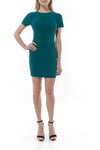 Manhattan dress green