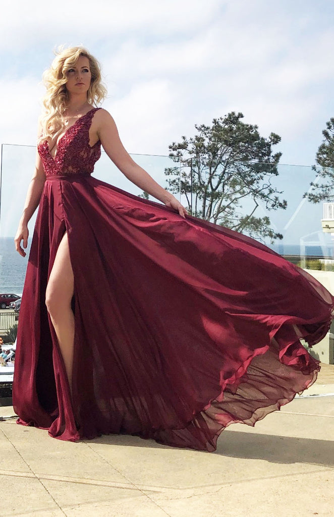 Victoria gown from Rene Atelier