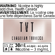 TVT Canadian Tobacco 30ml