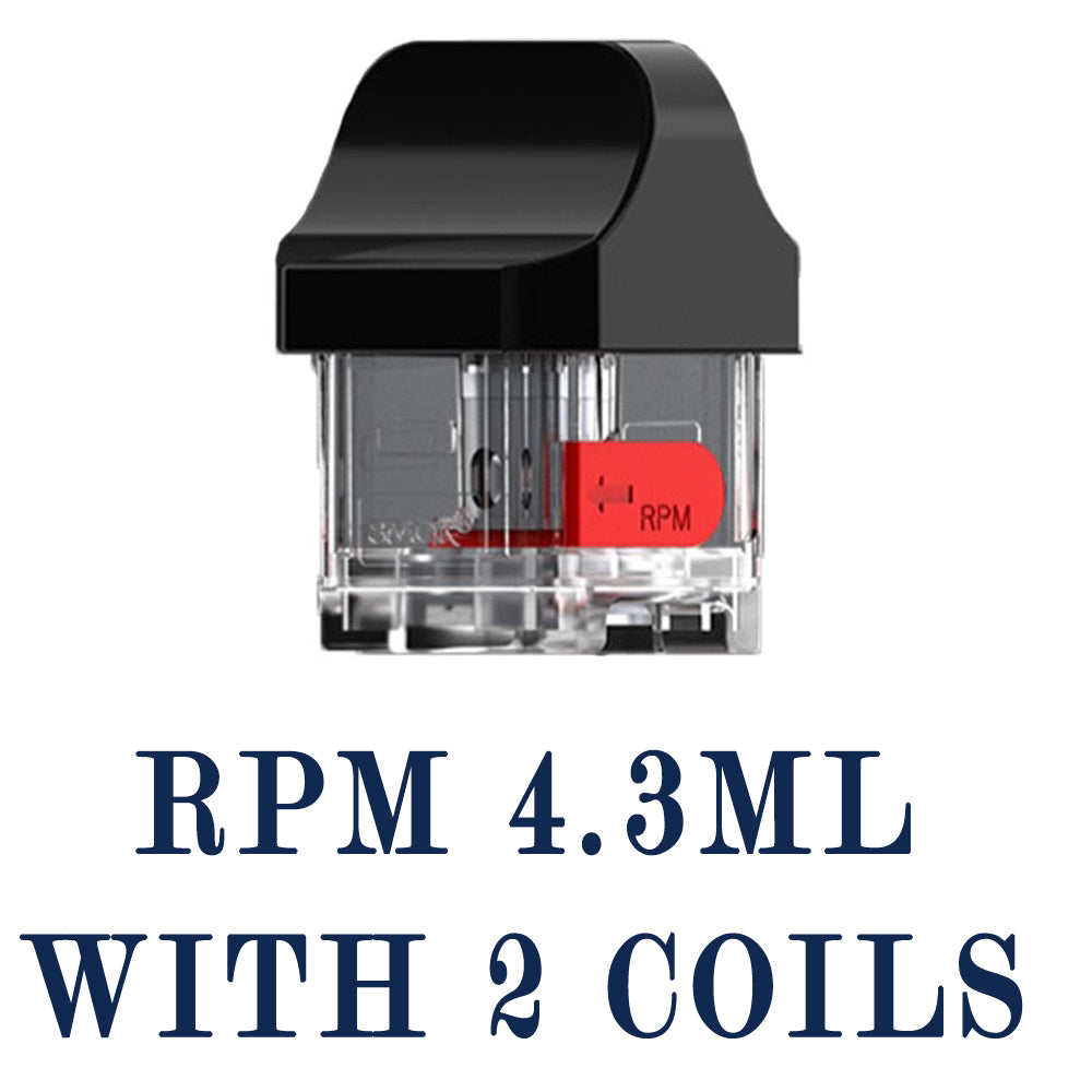 RPM Cartridge with coil 4.3ml 1 piece