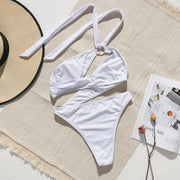 Halter Ring Swimsuit -  bydivstore11