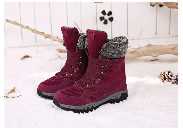Women's Waterproof Snow Boots - ByDivStore