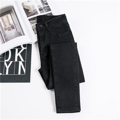 Women's Stretch Bottoms Skinny Pants - ByDivStore
