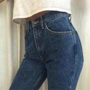 Women's Vintage High Waisted Jeans - ByDivStore
