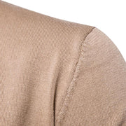 Men's Casual V Collar Thick Cashmere Sweater - ByDivStore