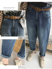 Women's Vintage Chic Cool Denim Pants - ByDivStore