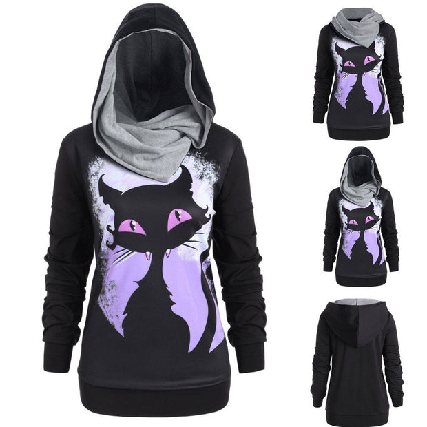 Women's Printed Hoodies - ByDivStore