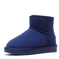 Women's Leather Fur Snow Boots - ByDivStore