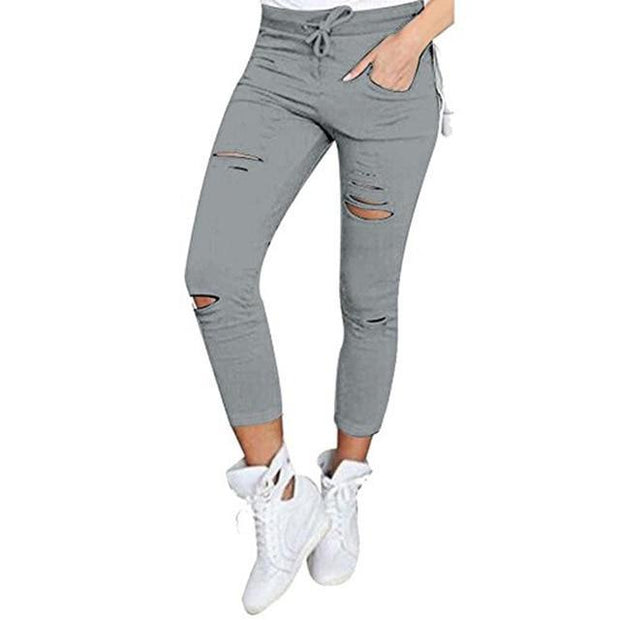Women's Wild Cotton Pencil Pants - ByDivStore