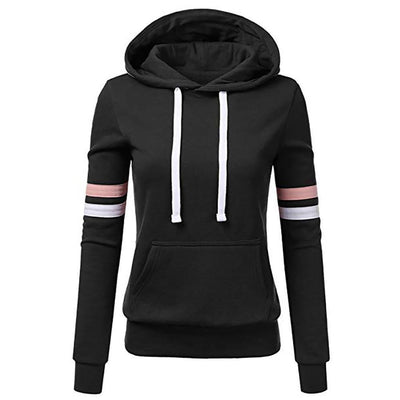 Women's Stripe Long Sleeve Sweatshirt - ByDivStore
