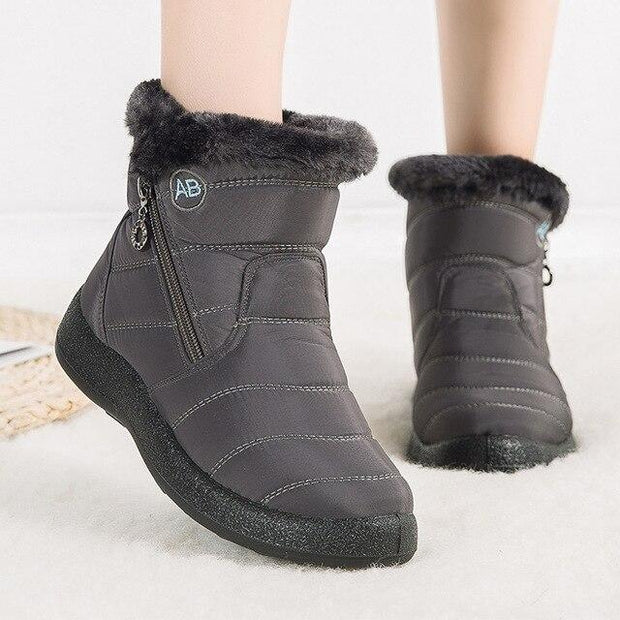 Women's Warm Waterproof Snow Boots - ByDivStore