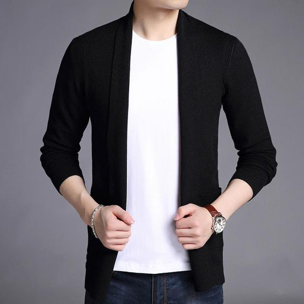 Men's Long Cardigan - ByDivStore