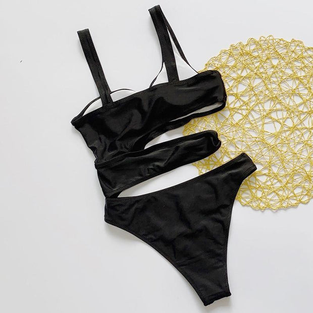Hollow Out Swimsuit -  bydivstore11