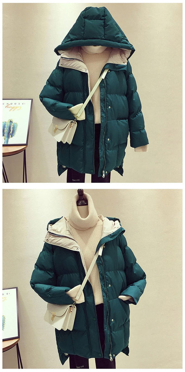 Women's Long Hooded Jacket - ByDivStore