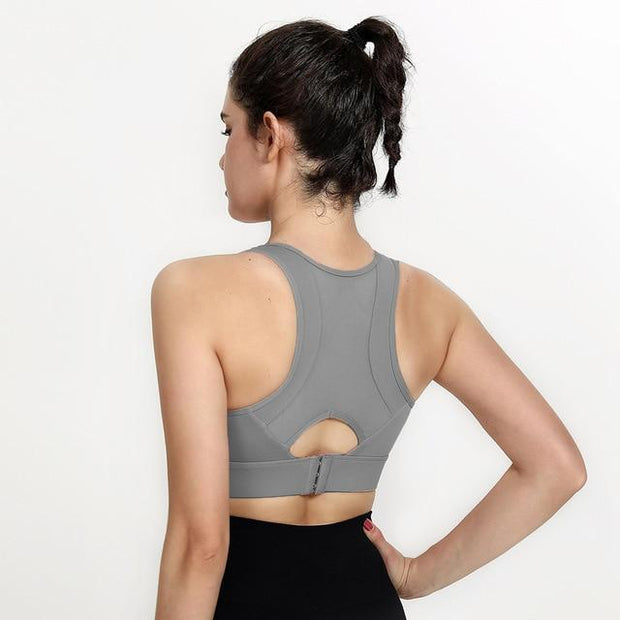 Women's Beautiful Back Yoga Padded Bra - ByDivStore
