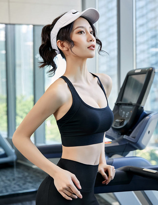 Women's Strap Push Up Sports Bra - ByDivStore