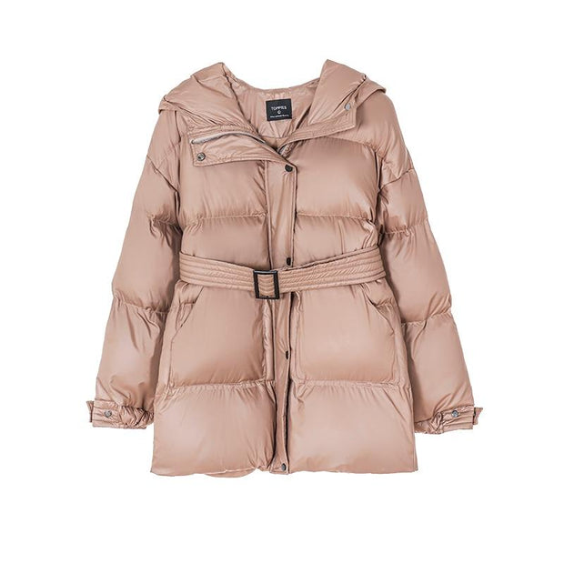 Women's Hooded Puffer Jacket - ByDivStore