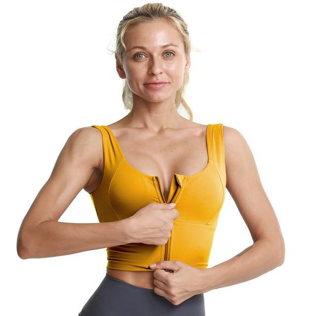 Women's Cropped Sports Bra - ByDivStore