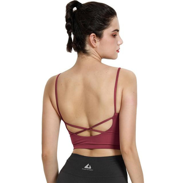 Women's U Shape Sports Bra - ByDivStore