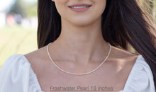 Load image into Gallery viewer, Freshwater Pearl Necklace White