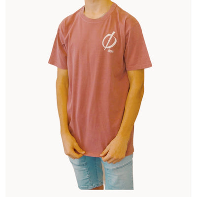 Faded Red New Logo Tee