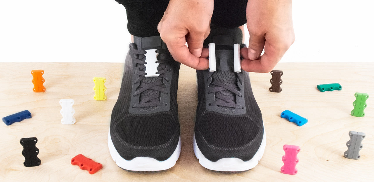 Nike shoes with Zubits magnetic closure