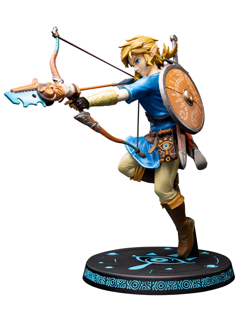 First 4 Figures The Legend of Zelda: TLOZ Breath of the Wild - Link Estatua Preventa