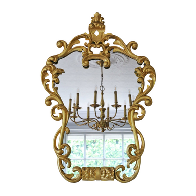 19th Century Decorative Gilt Wall Mirror