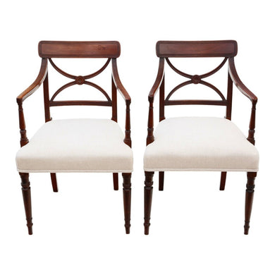 Pair of Regency Desk Chairs