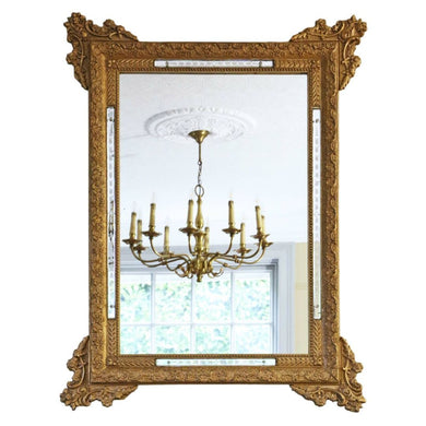 19th Century Italian Gilt Wall Mirror