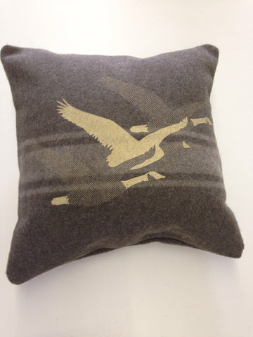 Army Green Migration Cabin Pillow