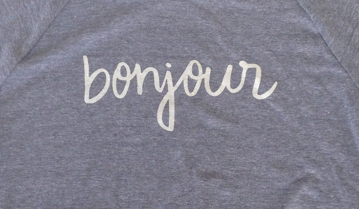 Womens Bonjour Ragland Long sleeve