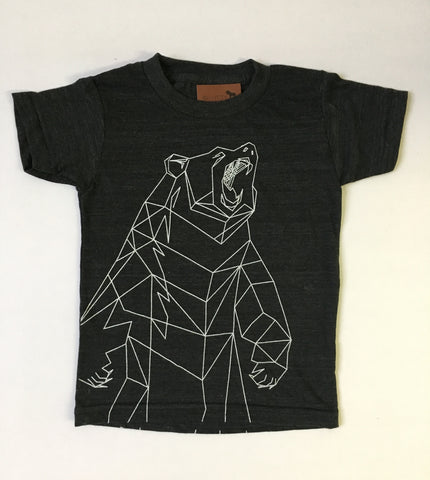 Kids Geometric Bear Tee