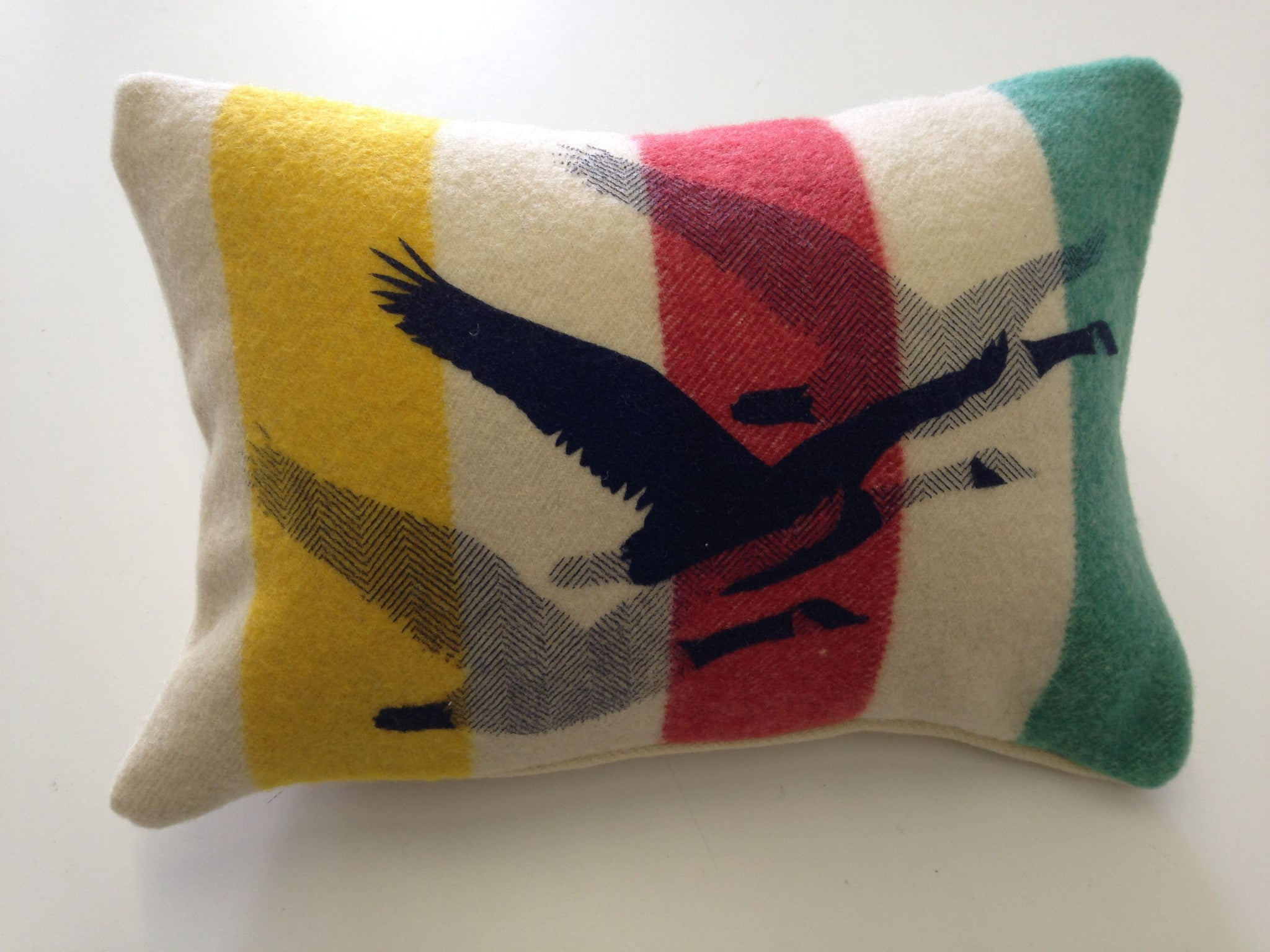 Migration Trapper pillow -12x18""