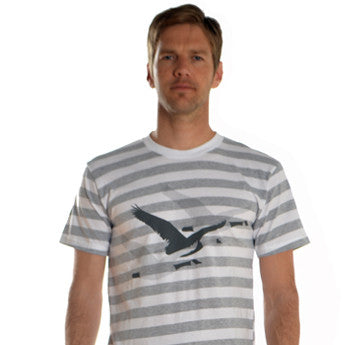 Migration tee - grey/white