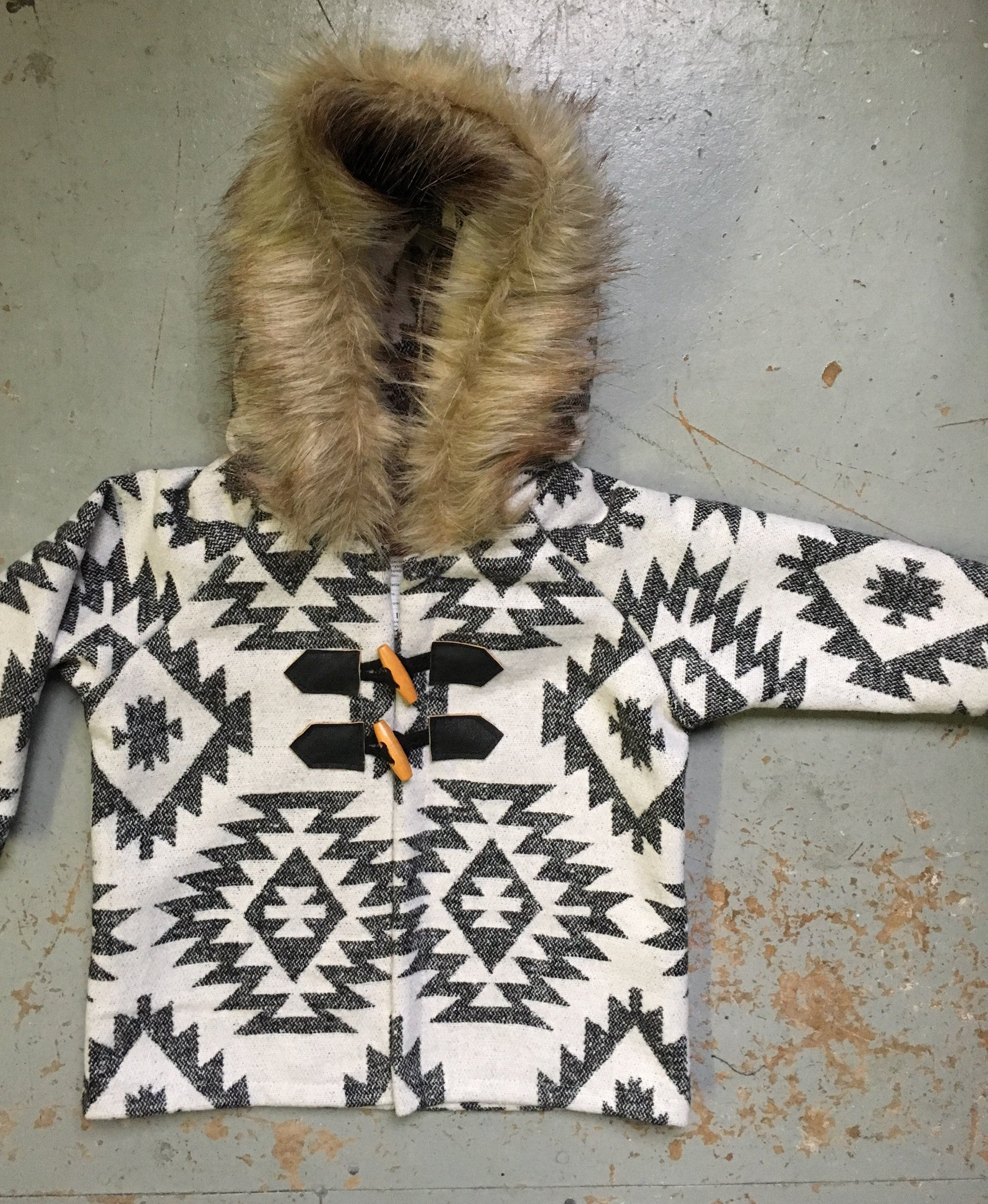 Aztec Toddler Coat