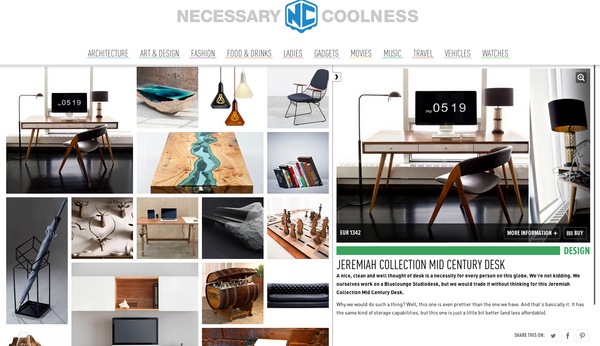 Jeremiah Collection in Necessary Coolness