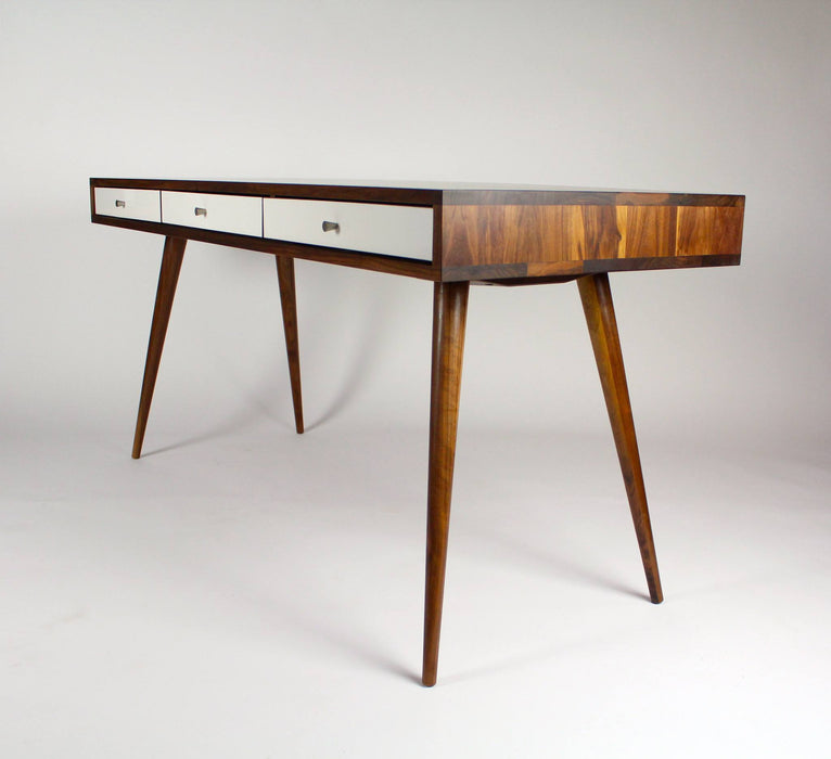 Mid Century Desk with Cord Management - JeremiahCollection - 6